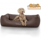 Mobile Preview: Knuffelwuff Hundebett Madison braun M-L 85 x 63 cm