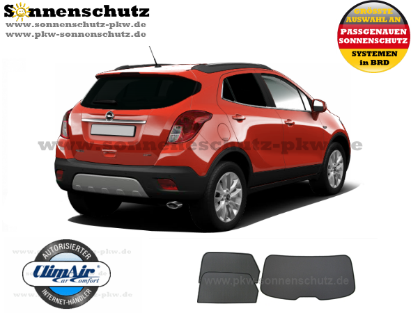 sonnenschutz sonniboy opel mokka. Black Bedroom Furniture Sets. Home Design Ideas
