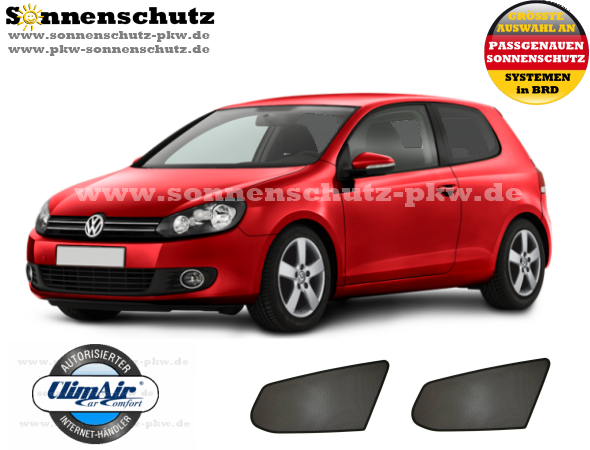 sonnenschutz sonniboy vw golf 6. Black Bedroom Furniture Sets. Home Design Ideas