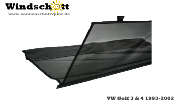 windschott vw golf 3 4 cabrio. Black Bedroom Furniture Sets. Home Design Ideas